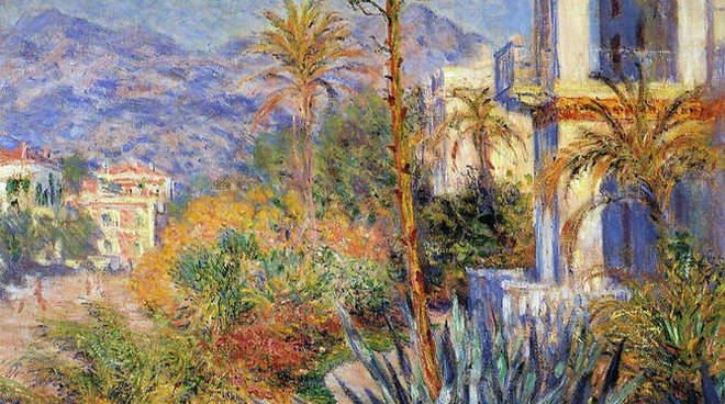 You are currently viewing Monet torna in riviera, a Bordighera